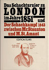 1851 - STAUNTON/MEIER / LONDON