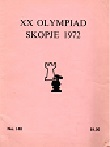 1972 - CHESS PLAYER / SKOPJE