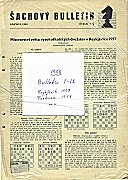 1958 - CZECH BULLETIN / PORTOROZ  
